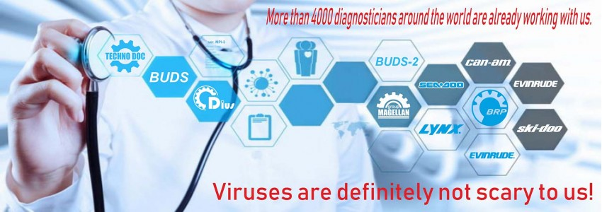 Viruses are definitely not scary to us!